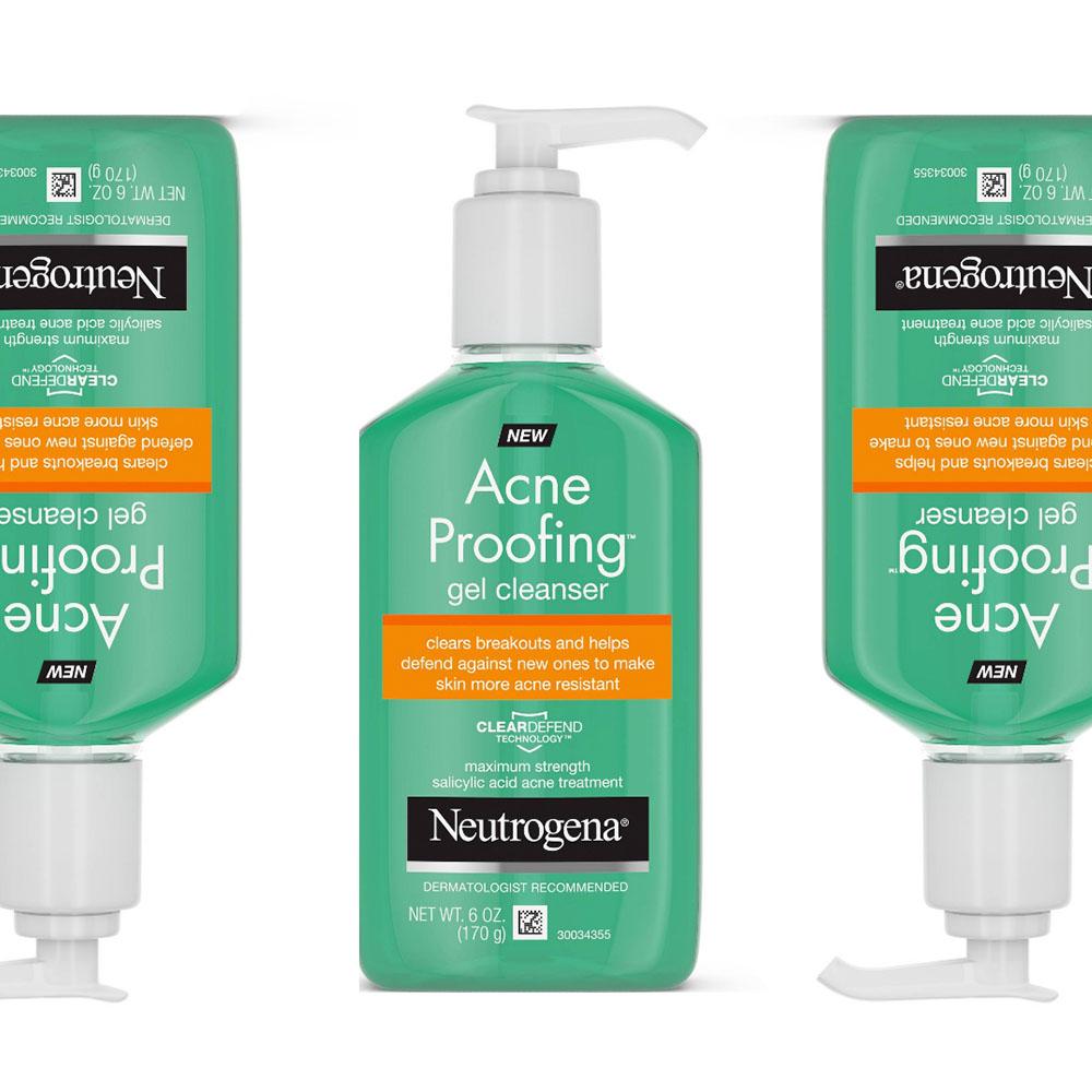 Neutrogena Acne Proofing Gel Cleanser ($9)