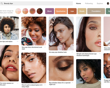 Pinterest's New Skin Tone Feature Will Make Everyone's Search Results So Much Better