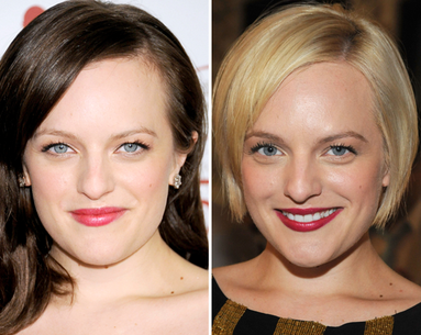 Mad Men Star Elisabeth Moss' Stunning Hair Makeover