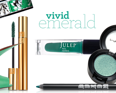 Makeup Color Trend: Vivid Emerald