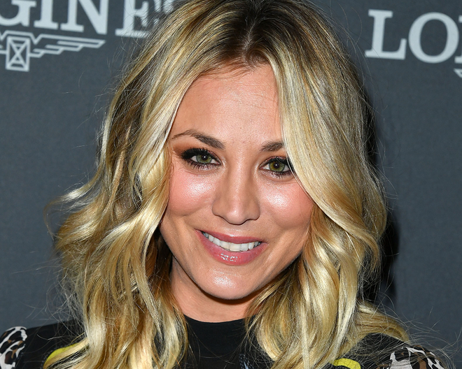 Kaley cuoco breast enlargement