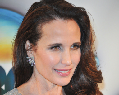 Andie MacDowell's Anti-Aging Makeover
