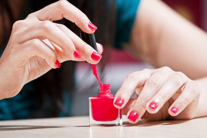 What can you do to make your nails dry faster