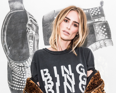 How Fashion Designer Anine Bing Maintains Her Glow
