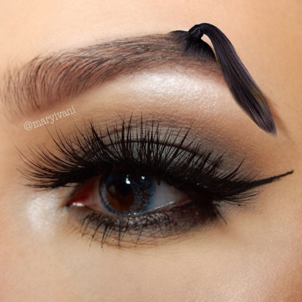 eyebrow trends on social media eyebrows makeup dailybeauty