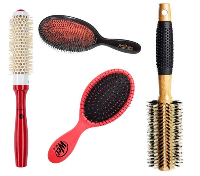 Which Hairbrush Is Best For Your Hair Type Straightening Hair