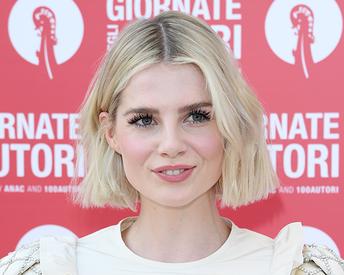 Lucy Boynton's 'Gelato' Eye Makeup Is Giving Us ALL the Vibes