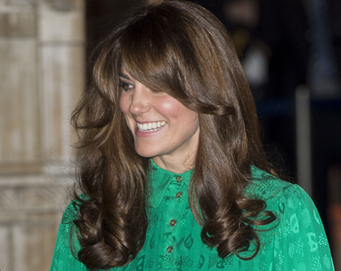 Fringe For the Duchess, Kate's New Bangs