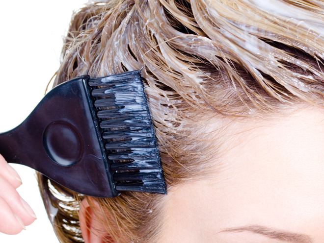 A Surprising Way To Stop Scalp Irritation Caused By Hair Dye Dry