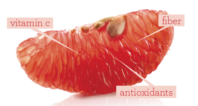 Oranges enriched with Antioxidants, Brightens Skin