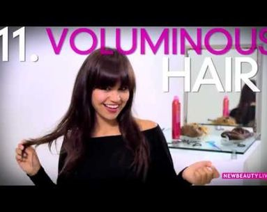Get 16 Hairstyles With Two Clip-In Hair Extensions
