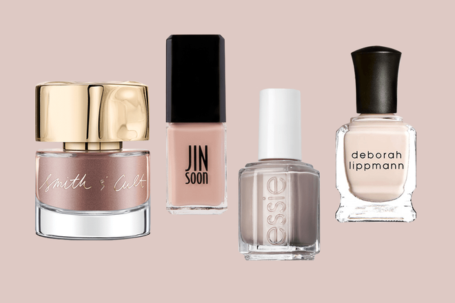 The Best Non-Boring Nude Nail Polishes for Fall 2018