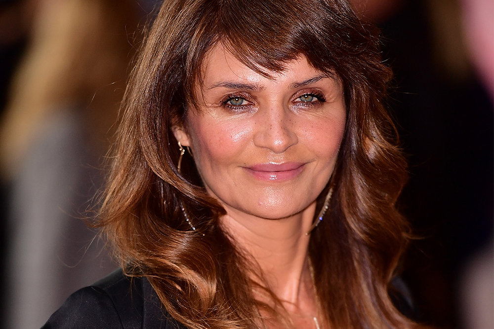helena christensen beauty routine wrinkles skin care