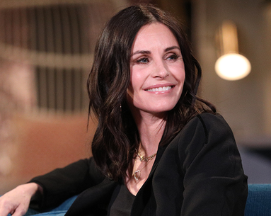 Courteney Cox Uses This Crazy-Looking Bed to Keep Her Skin Firm