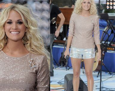 The Super Easy Thing Carrie Underwood Does to Get Killer Legs