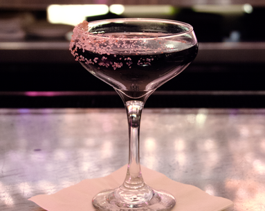 This Charcoal Cocktail Claims to Stop Bloating