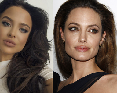 The Angelina Jolie Look-Alike Who's Taking the Internet by Storm