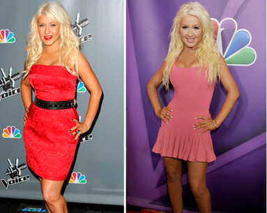 How Christina Slimmed Down