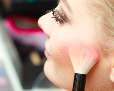 The Weird Place You're Not Applying Blush but Should Be