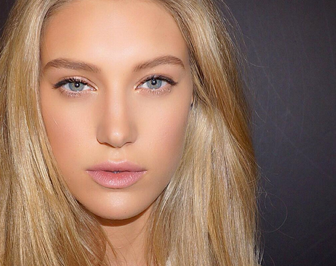 Sophisticated ways to wear shimmery makeup lip color makeup shimmer accents baditri Images