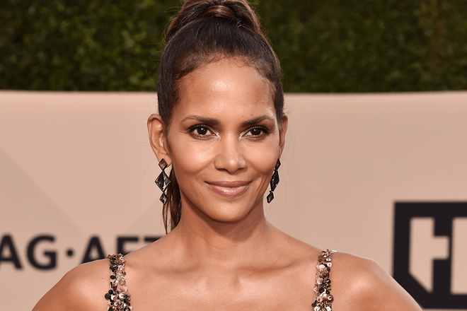 Halle berry facial treatments