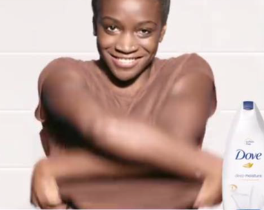 Model in Controversial Dove Ad Stands By the Video