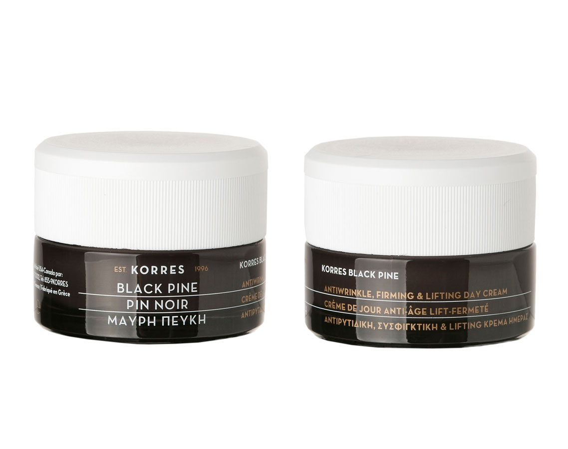 Korres Black Pine AntiWrinkle Firming and Lifting Day Cream ($58)