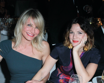 Drew Barrymore and Cameron Diaz Just Killed the #Nofilter Selfie Game