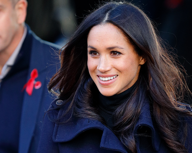 A Rare Photo of Meghan Markle's Natural Hair Surfaces and Twitter Is Delighted