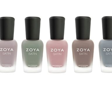 Nail Polish of the Month: ZOYA Naturel Satins