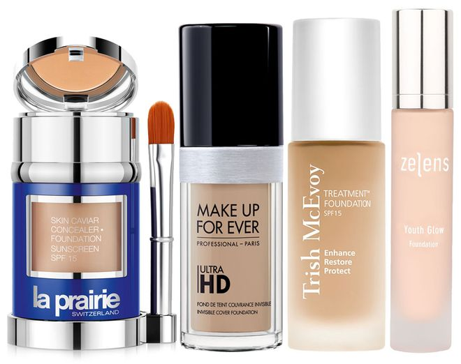 Allure best foundation for mature skin