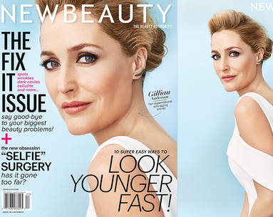 Gillian Anderson's Beauty Secrets Revealed!
