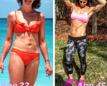 This 45-Year-Old Woman Made One Key Diet Change to Get The Stomach of Her Dreams
