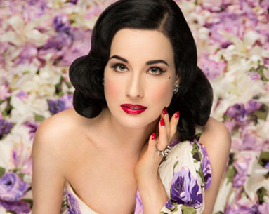 Dita Von Teese Shares the Best Makeup Trick She Knows