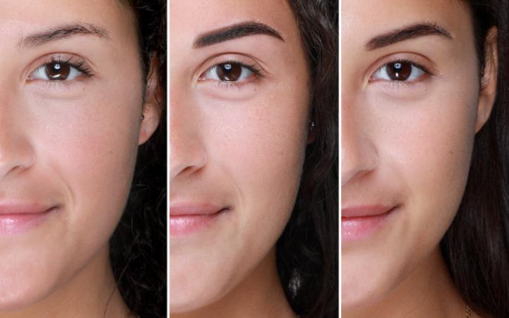 Microshading Eyebrow Treatment For Oily Or Sensitive Skin Eyebrows