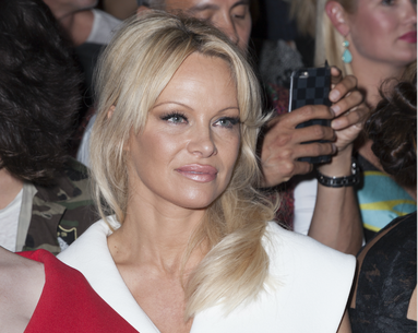 Pamela Anderson Stocks Up on Cases of This Drugstore Beauty Product