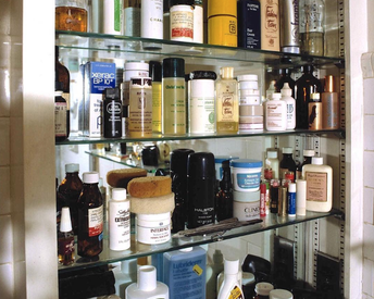 This Rare Snap of Andy Warhol's Medicine Cabinet is a Skin Care Junkie's Dream