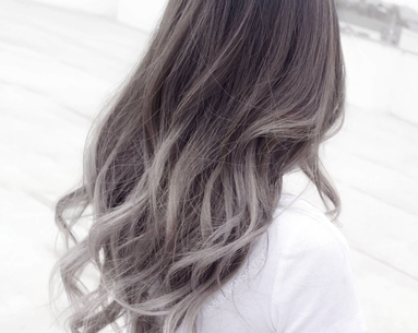 This Ombré Gray Hair Trend Will Make You Want to Color Your Hair Immediately