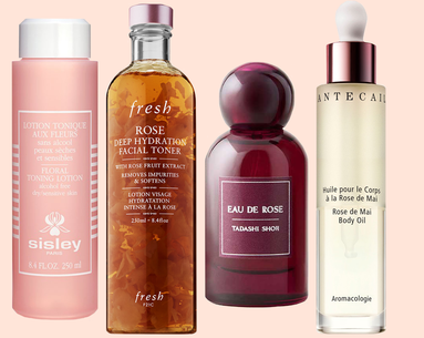 19 Rose-Infused Beauty Products That'll Get You Pretty From Head to Toe