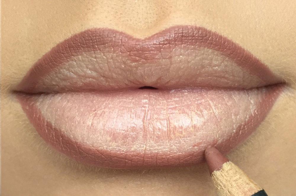 Image result for overline lips