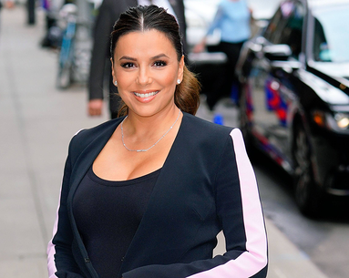 "Eva Longoria Talks Breast Cancer Awareness and ""New Mom Life"""