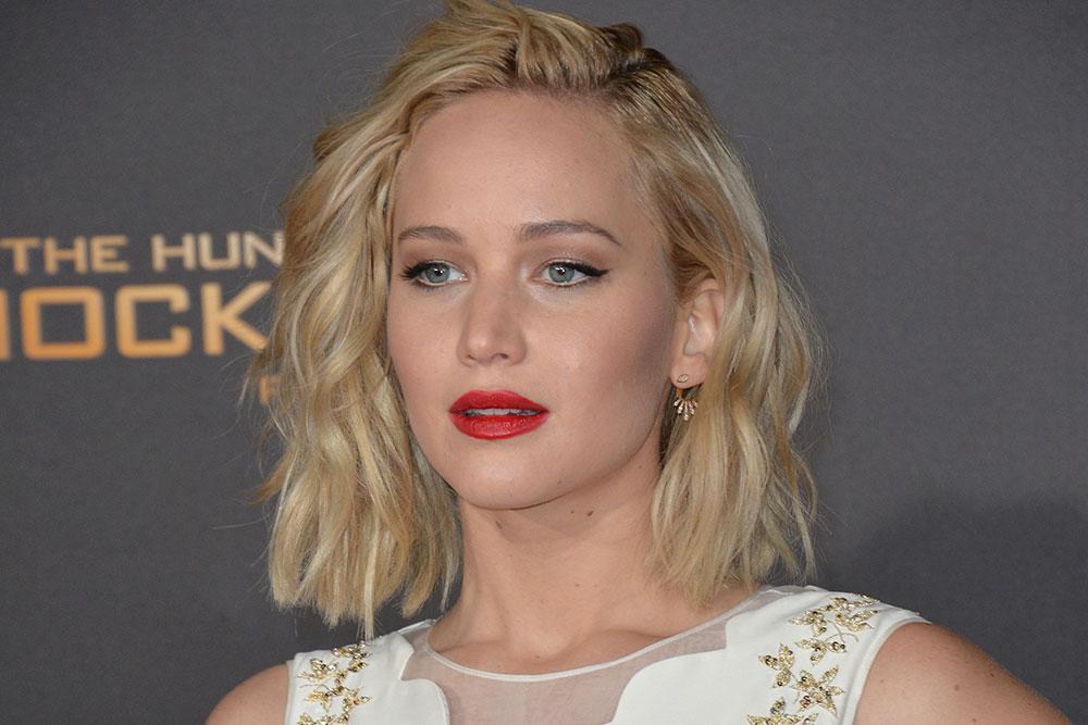 Jennifer Lawrences Hair Color Evolution Hair Color Hair The