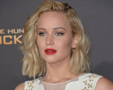 Jennifer Lawrence's Hair Color Evolution