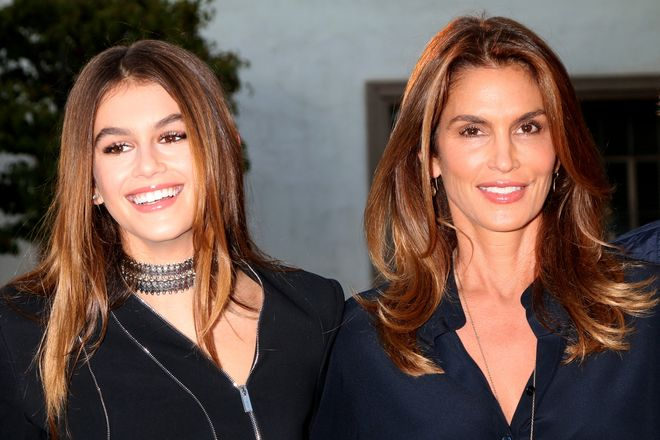 Kaia Gerber Makes Runway Debut and Walks Like Supermodel Mom Cindy Crawford