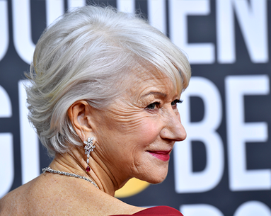 The Exact Line-Blurring Foundation Helen Mirren Wore to the Golden Globes