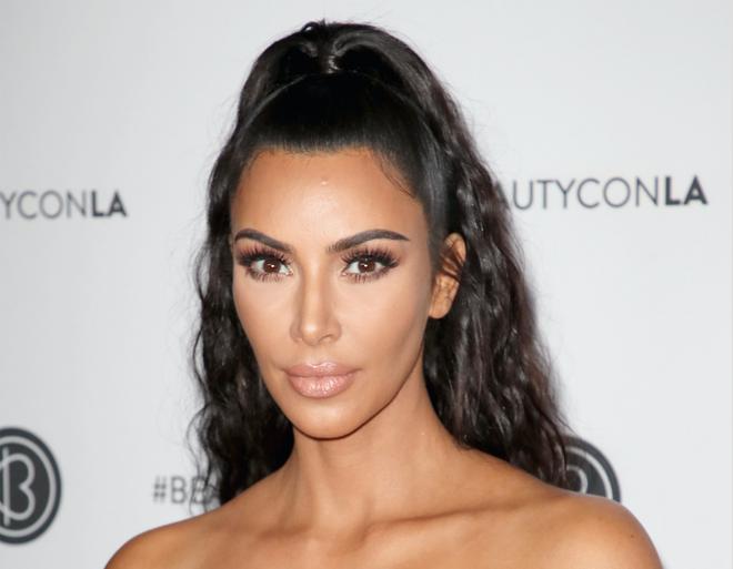 Kim Kardashian West Shared A Throwback Beauty Instagram Celebrity