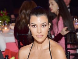 Kourtney Kardashian Just Got PRP to Fix a Bald Spot