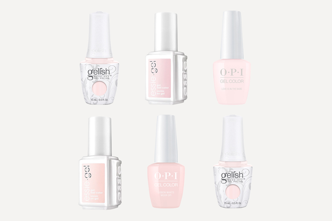 The Prettiest Light Pink Gel Polishes For Your Next Salon Mani