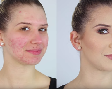 Beauty Vlogger Shows the One Product That Fakes Flawless Skin