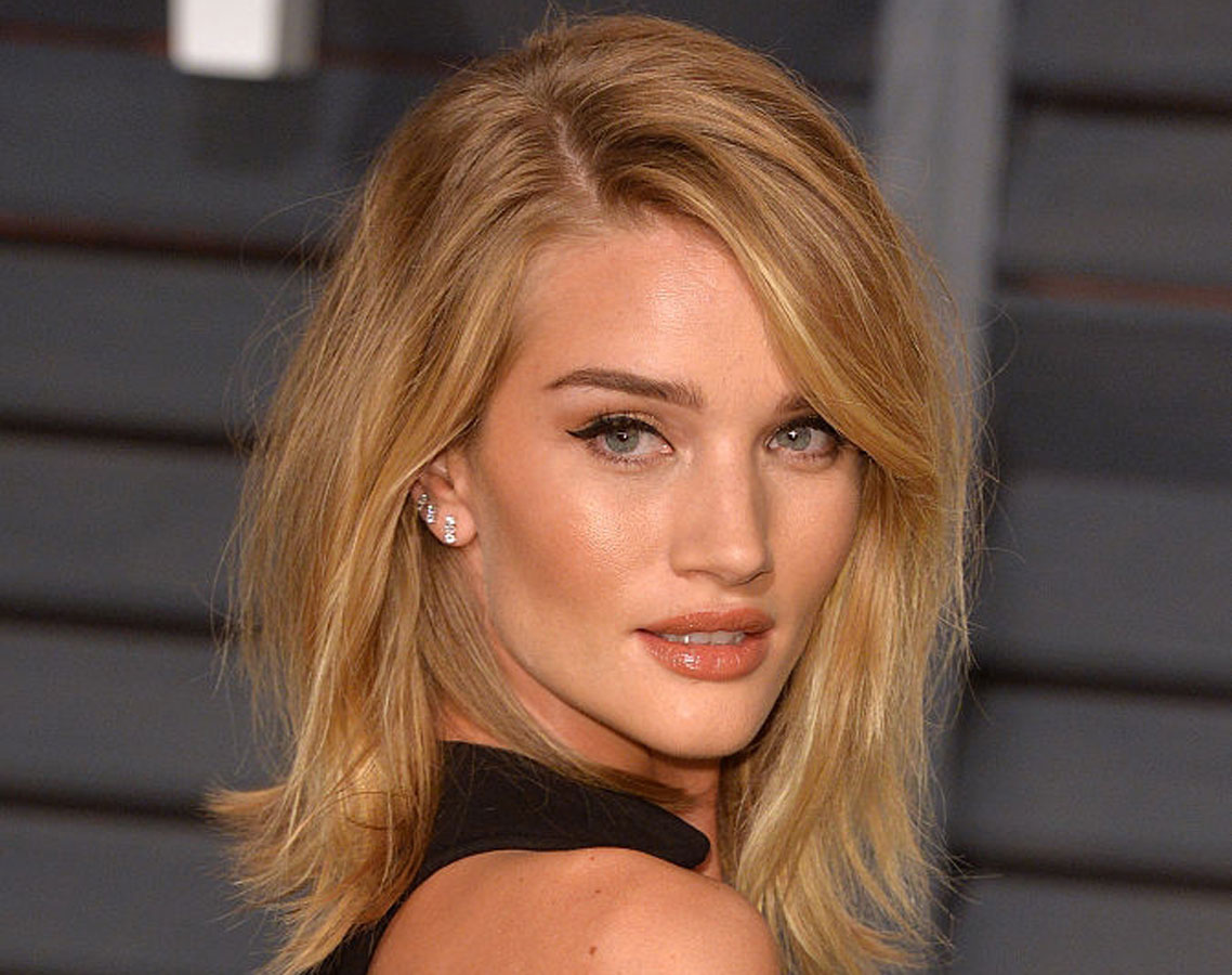 Rosie Huntingtonwhiteley Gets A Lob For The New Year Haircut